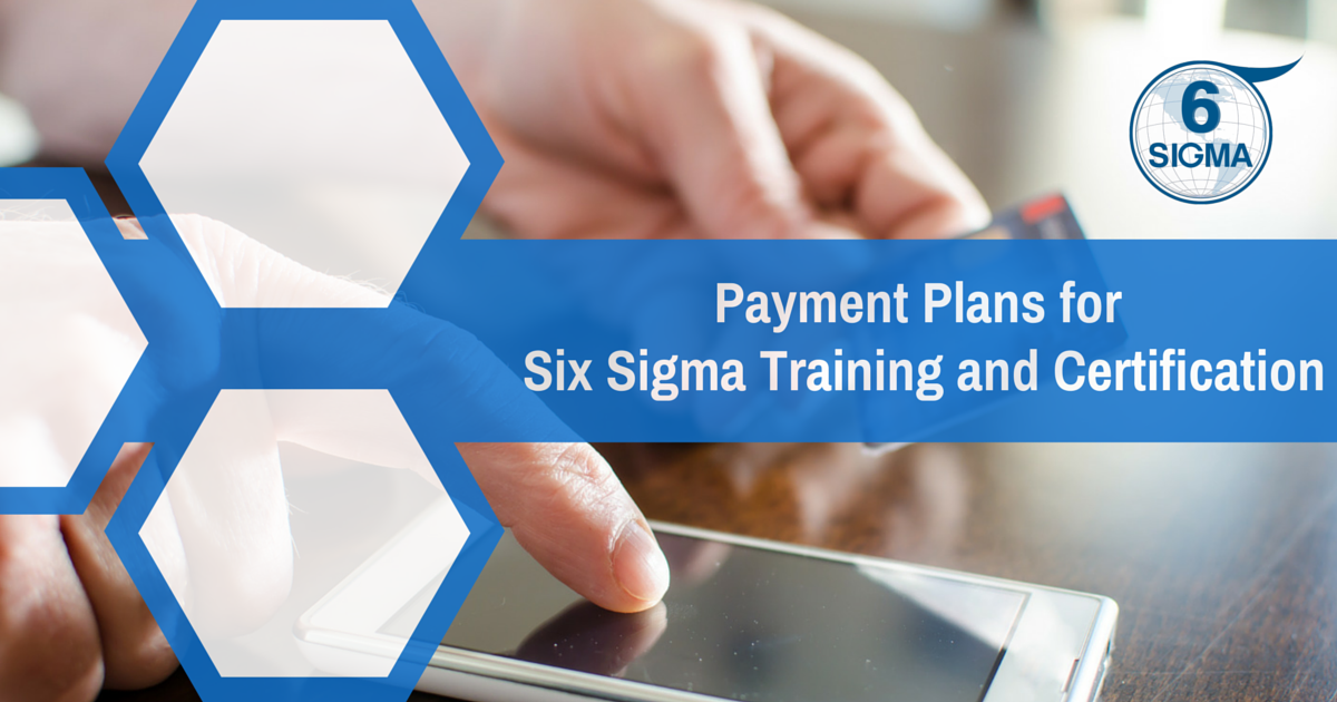 Blog Payment Plans For Lean Six Sigma Training Certification